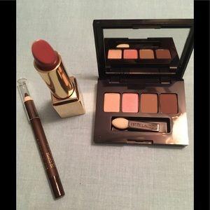 Estée Lauder Lipstick Intense Nude, Eyeliner, Shad